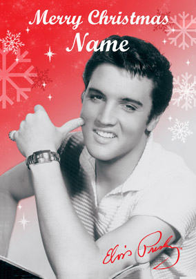 WWW.FUNKYPIGEON.COM - PERSONALISED Card - Elvis Presley ...