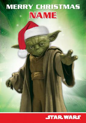 Www Funkypigeon Com Personalised Card Star Wars Yoda