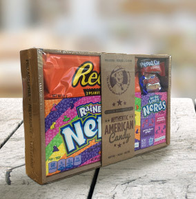 The Surprise Sweet Selection - American Candy Mini Hamper 215g