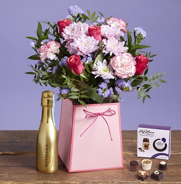 The Birthday Gift Bag with Bottega And Chocolates - £39.99
