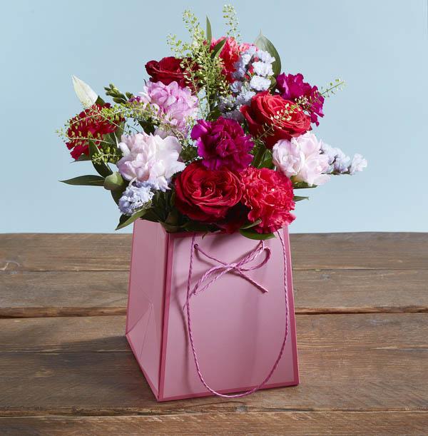 The Birthday Flower Gift Bag - £25.99