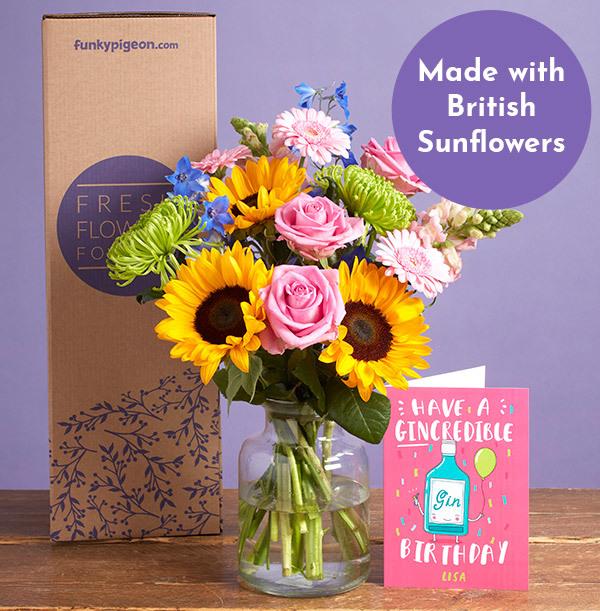 The Summer Flower Bouquet - £25.99