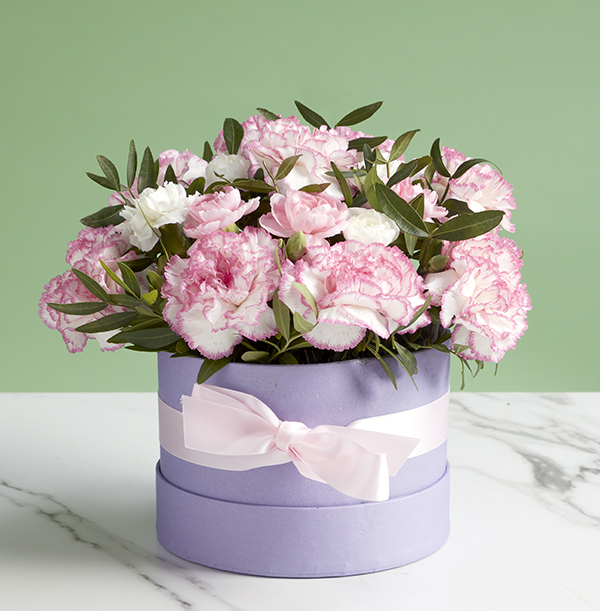 The Colourful Carnation Hat Box - £28.99