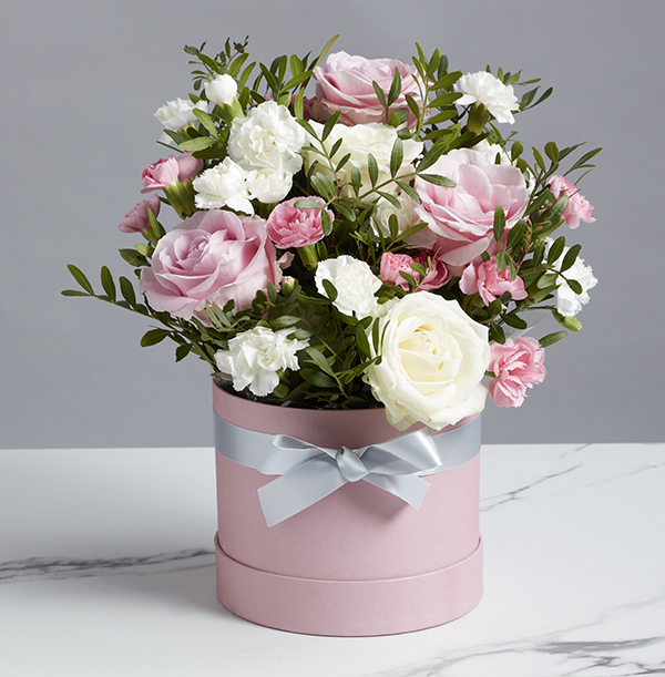 The Luxury Rose Hatbox - £36.99