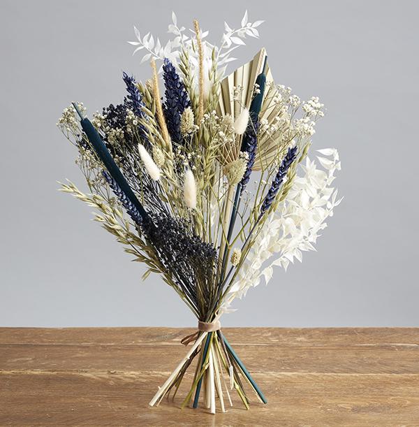 The Luxury Navy Night Dried Flower Bouquet - £39.99