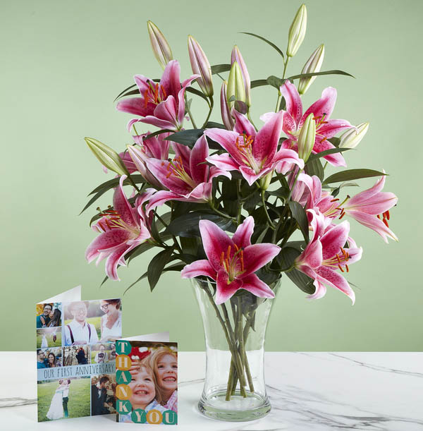 The Simply Lilies Pink Bouquet - £25.99