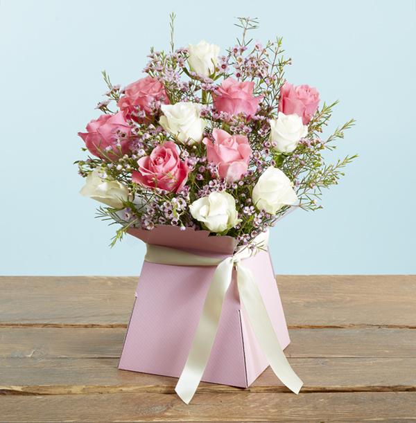 The Pink Calypso Vase Arrangement - £32.99