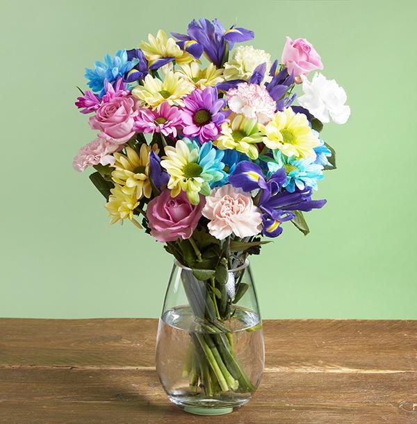 The Rainbow Medley Bouquet - £28.99