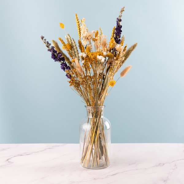 The Sunny Meadow Hand Tied Dried Flower Bouquet - £26.99