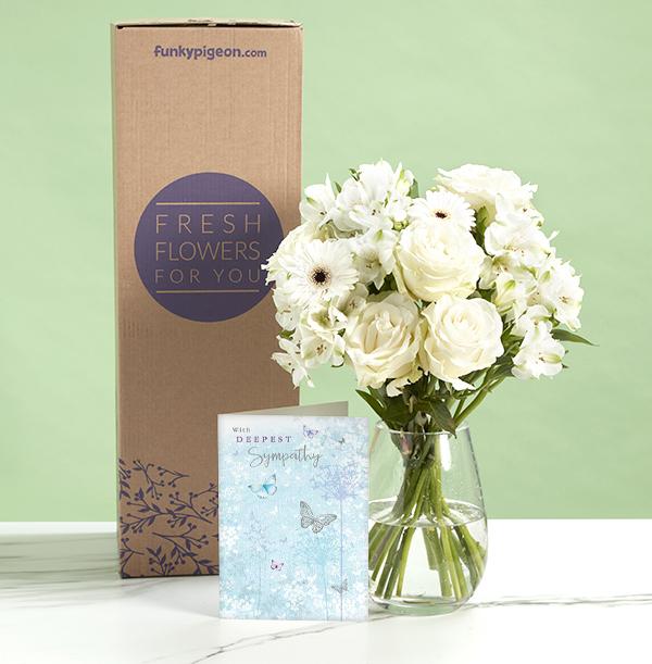 The Sympathy Bouquet - £27.99