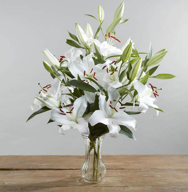 The Simply Lilies White Bouquet - £25.99