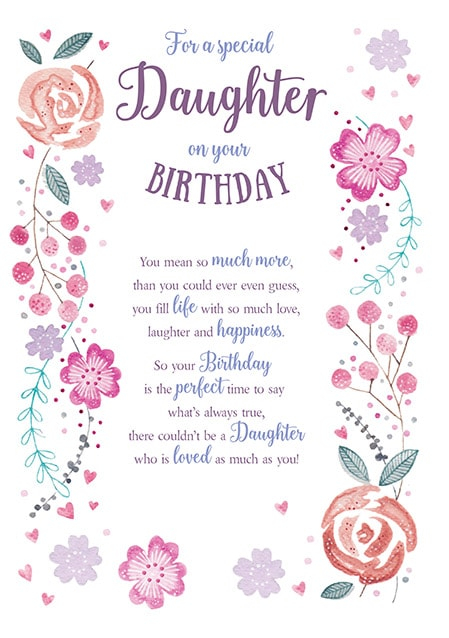 Miraculous Special Daughter Birthday Card Funky Pigeon Funny Birthday Cards Online Inifodamsfinfo