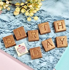 Birthday Chocolate Box