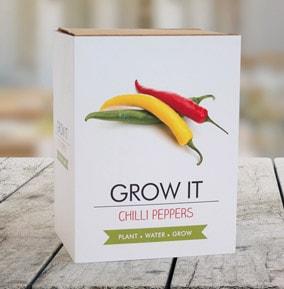 Chilli Grow It Kit