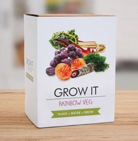 Rainbow Veg Grow it Kit