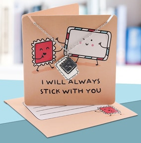 I Will Always Stick With You - Necklace