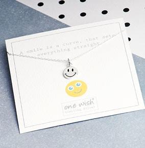 Smile Silver Necklace