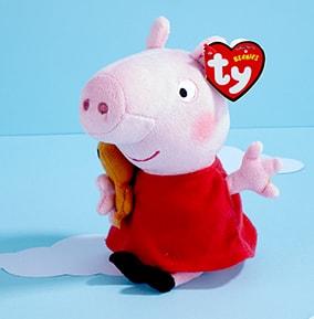 Peppa Pig - TY Beanie Boo