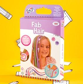 Fab Hair Chalk & Extension Kit