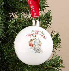 Tatty Teddy - Perfect Granddaughter Bauble