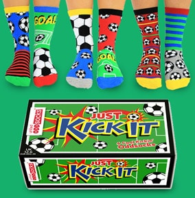Kids Kick It Oddsocks Size 12-6