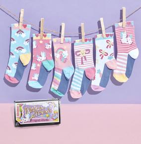 Kids Fairytale Friends Oddsocks Size 9-12