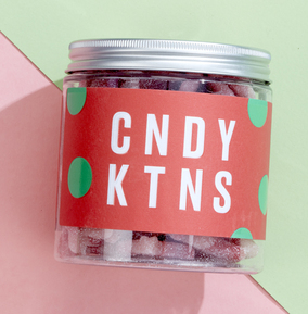 Candy Kittens Wild Strawberry Sweet Jar (vgn)