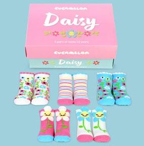 Toddlers Daisy Socks 1-2 Years