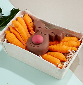 Chocolate Reindeer and Carrots