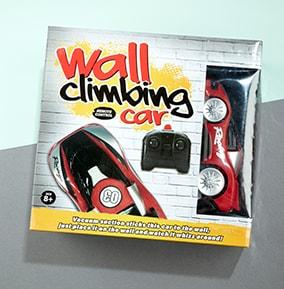 RC Wall Climb Car - Red