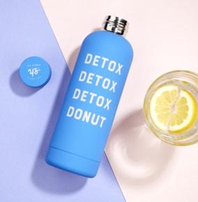 Water bottle - Detox Donut