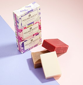Heyland & Whittle Fragrant Floral Soap Trio