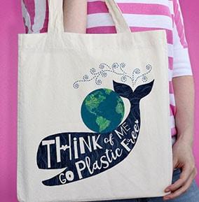 Go Plastic Free Tote Bag