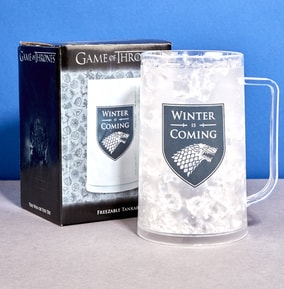 Game Of Thrones Winter Is Coming Freezable Tankard