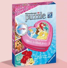 Disney Princess Heart 3D Puzzle