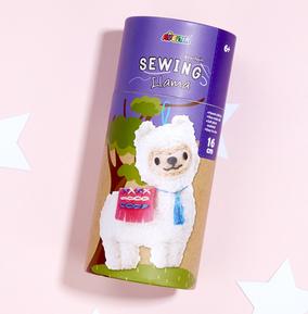 Llama Keychain Sewing Kit