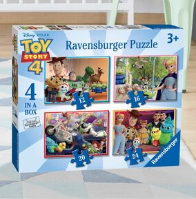 Toy Story 4, Four Puzzles in a Box