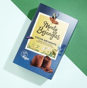 Monty Bojangles- Cocoa Nib Nights Vegan Truffles
