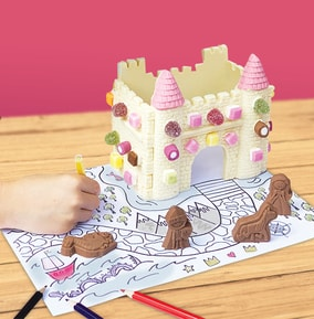 Make Your Own Chocolate Princess Castle