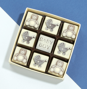 Baby Boy Chocolate Box