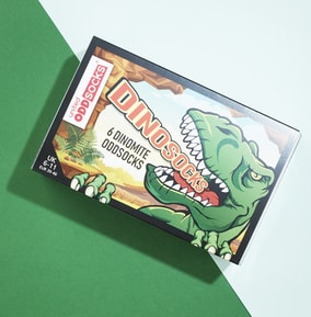 Men's Dinosocks Oddscocks  6-11