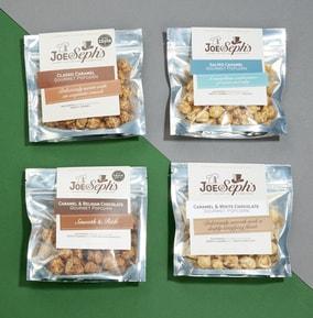 Joe & Sephs Flavoured Popcorn Selection Box