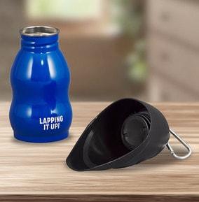 Waterbottle & Travel Bowl - Lap it up