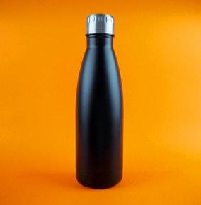 Black Matt 500ml Stainless Steel Insulated Water Bottle