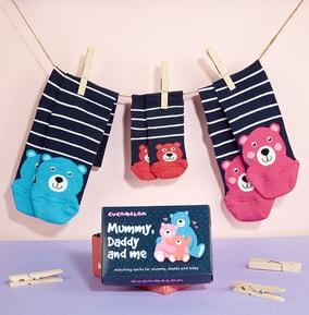 Mummy, Daddy & Me Family Socks