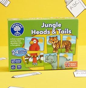 Jungle Animal Matching Game