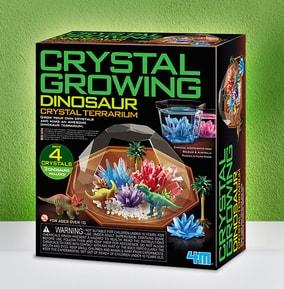 Dinosaur Crystal Terrarium