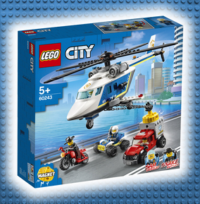 LEGO Police Helicopter Chase