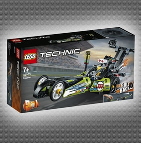 LEGO Technic Dragster