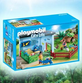 Playmobil Small Animal Boarding Set